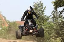 Poslední čtvrtý závod mistrovství České republiky v Hrušovanech nad Jevišovkou.