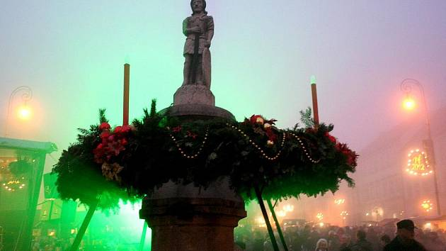 Slavnostní začátek adventu ve Znojmě. 27. prosinec 2011.