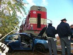 Vážná dopravní nehoda se stala před osmi roky na přejezdu mezi Znojmem a Kuchařovicemi.