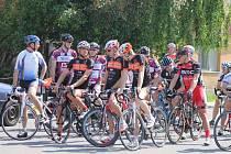 Dva závody odjeli cyklisté o víkendu v Hodonicích.