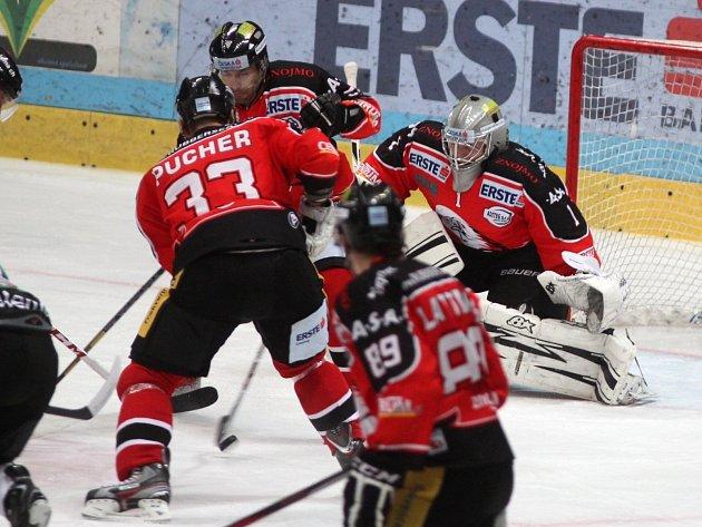 Znojemští hokejisté se utkali s poslední Lublaní.