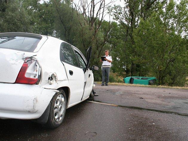 Při nehodě u Prosiměřic byli zraněni dva lidé