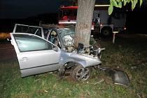 Tragická nehoda se stala ve čtvrtek večer mezi Čejkovicemi a Břežany na Znojemsku. Řidič Škody Octavia tam krátce před dvacátou hodinou narazil do stromu a na místě zemřel.
