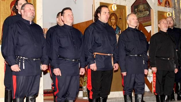Jeden z nejslavnějších sborů Evropy, Bolschoi Don Kosaken pod vedením Petji Houdjakova, navštívil v rámci oslav ruských Velikonoc pravoslavný kostel svatého Rostislava ve Znojmě.