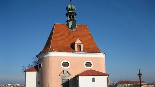 Kaple sv. Antinína na Hradišti u Znojma.