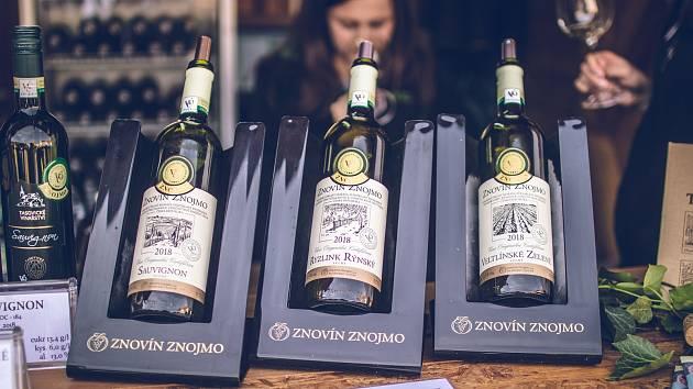 Vína VOC Znojmo.