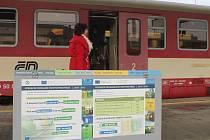 Třídit odpad mohou cestující také na znojemském vlakovém nádraží.