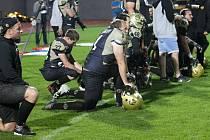 Američtí fotbalisté Znojmo Knights. Ilustrační foto.