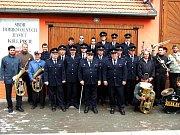 Křepičtí dobrovolní hasiči.