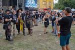 Moravský Krumlov zažil další ročník metalového a rockového festivalu Rock Heart. Foto: Kristýna Sklenářová