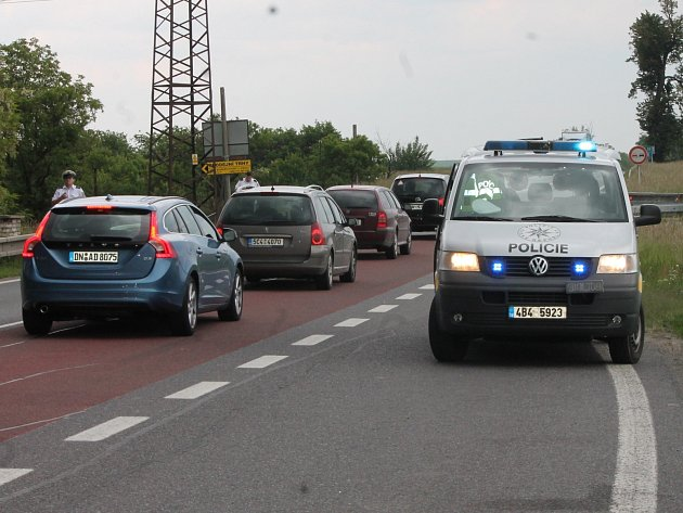 Nehoda na silnici. Ilustrační foto.