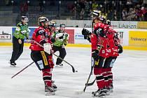 Znojemští hokejisté ve dvacátém kole mezinárodní soutěže EBEL přehráli na domácím ledě rakouský Graz 5:1.