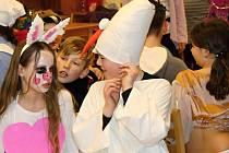 Chvalovický kulturní dům patřil v sobotu odpoledne dětem.