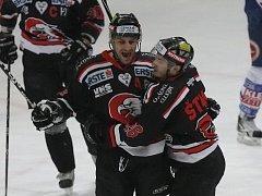 Hokejisté Villachu byli pro Znojmo nepříjemnými soupeři. Orli je ale zvládli porazit 3:2.
