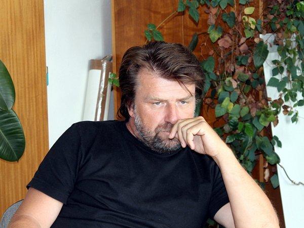Jeden zjednatelů a desetinový podílník společnosti Orli Znojmo Stanislav Hahn.