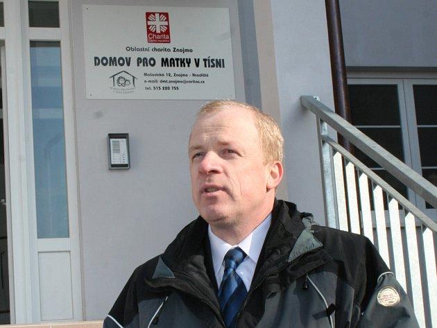Ředitel znojemské charity Evžen Adámek