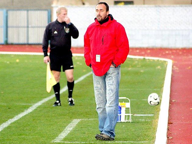 Michal Sobota, trenér po podzimu druhého týmu MSFL