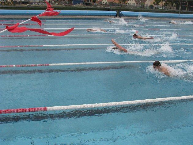 Patnáct členů českého plaveckého reprezentačního týmu trénuje od neděle ve Znojmě.