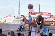 44. ročník volejbalového Vranovského léta se odehrál v tropickém vedru.
