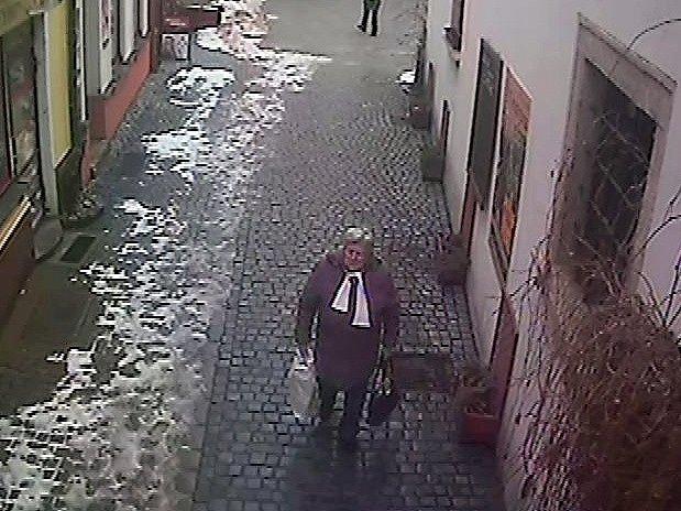 Kdo poznal ženu na snímku, ať toto oznámí na nejbližší policejní služebně nebo na lince 158.