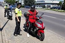 Znojemští policisté kontrolovali motorkáře.