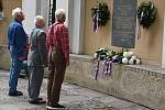 Představitelé Znojma, spolků a občané si připomněli 51. výročí událostí ze srna 1968.