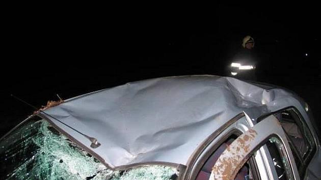 Pod převráceným Renaultem, který řídil, zahynul devětatřicetiletý řidič mezi Hevlínem a Dyjákovicemi.