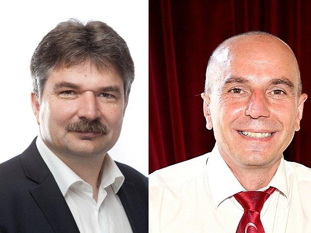 Senátní souboj ve Znojmě: lidovecký Jiří Němec vs. sociálně-demokratický Pavel Štohl.