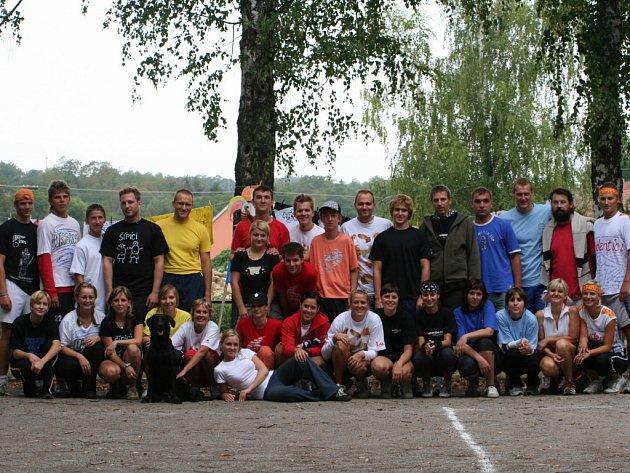 Účastníci turnaje v Tvořihrázi