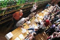 Sedmadvacátá výstava vín v Šatově.