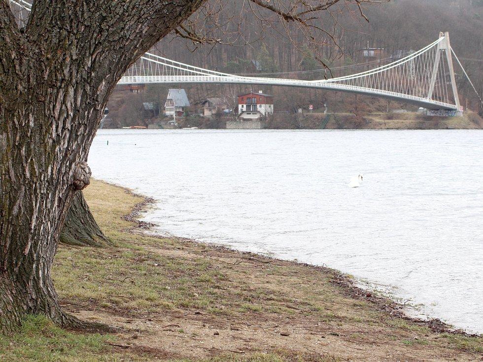 Ke stům procentům se 1. března 2019 přiblížila zásoba vody v nádrži vranovské přehrady.
