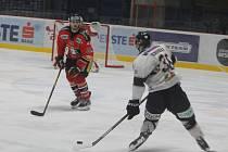 První dva body v nadstavbě získali hokejisté Znojma proti Fehérváru po výhře 2:1.