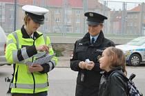 Preventivní akci s názvem Zebra se za tebe nerozhlédne uspořádali ve středu 2. dubna znojemští dopravní policisté.