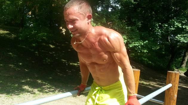 Jiří Sedlář, propagátor street workoutu.