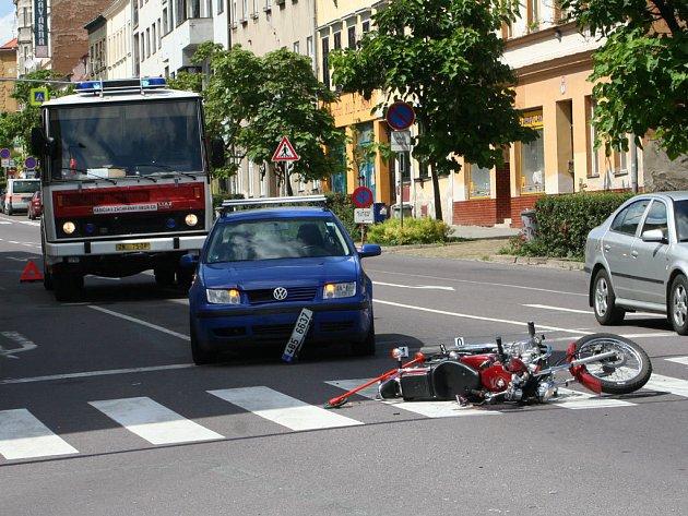 Nehoda na Vídeňské ulici