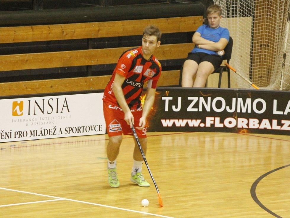 Florbalisté Znojma zdolali v derby Hattrick Brno a to díky skvělé třetí třetině 6:4.