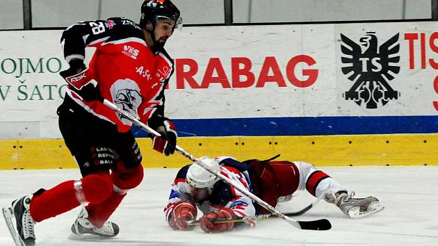 Znojemští Orli si poradili s hokejisty Havlíčkova Brodu.