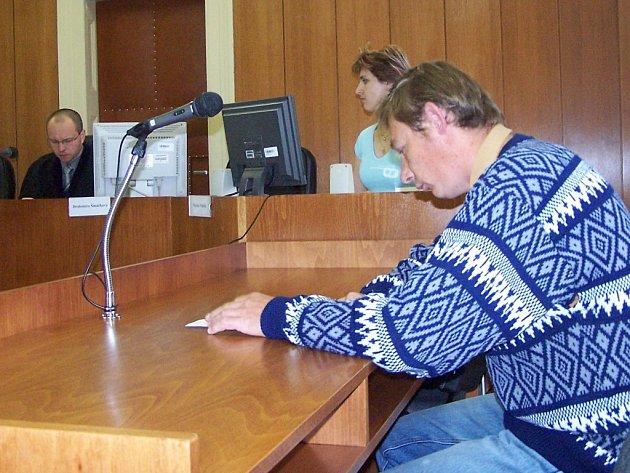 Pavel Rojík před soudem