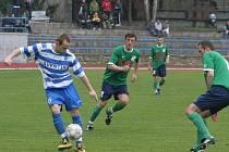 MSFL: 1. SC Znojmo (u míče Zdeněk Látal) vs HFK Olomouc