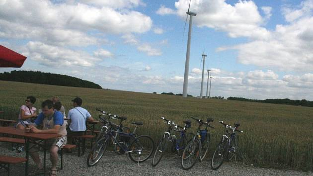 Větrné elektrárny v Břežanech