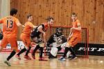 Florbalisté Znojma v sobotu těsně prohráli s Bulldogs Brno 6:7 a o den později 4:5.