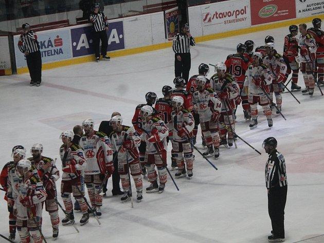 Hokejisté Znojma jsou vyřazeni. V patém utkání čtvrtfinále play off nestačili na Klagenfurt 1:2 v prodloužení.