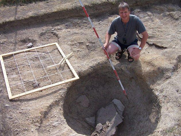 Archeolog na Znojemsku