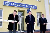 7. ledna byla slavnostně otevřena opravená budova vlakového nádraží v Moravském Krumlově. Náklady na rekonstrukci činily devět a tři čtvrtě milionu korun.