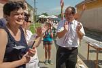 K výročí deseti let od navrácení titulu městyse Lukovští překonali český rekord. Napekli 154 metrů štrůdlu. Zapojily se desítky nadšenců.