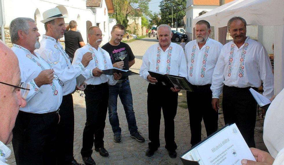 V Šatově se i zpívalo.