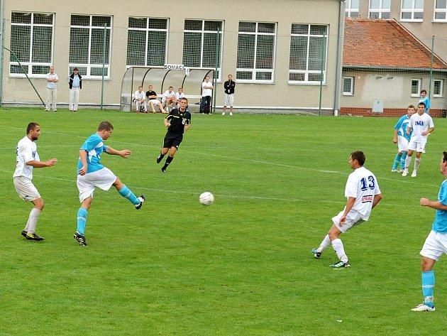Blížkovice hrají historicky poprvé v krajské soutěži. V neděli měly premiéru na domácím hřišti, kde se předvedly výhrou nad Zastávkou.
