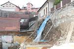 Poškozenou opěrnou zeď v lokalitě Jáma ve Starém městě bude Znojmo sanovat.