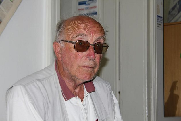 Stavební inženýr Jan Hlavatý.