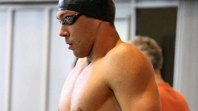 Znojemský plavec Michal Rubáček.